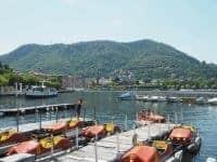 Visiting Lake Como from Milan....