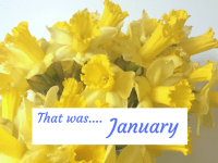 That was.... January!