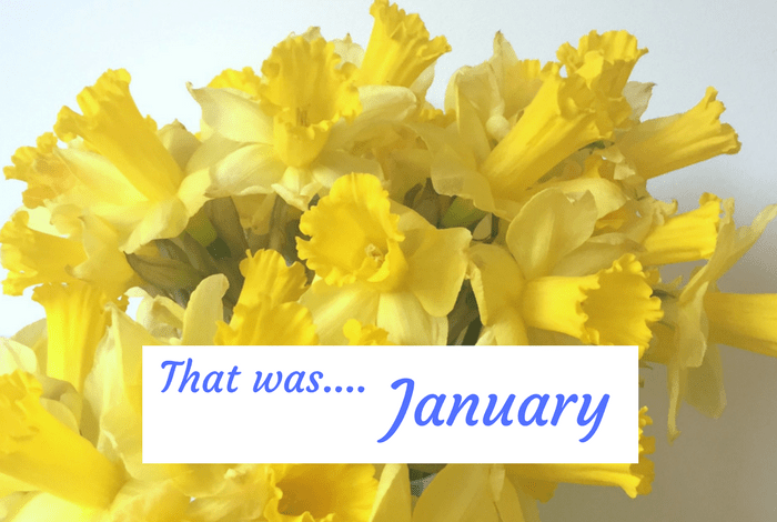 That was January....