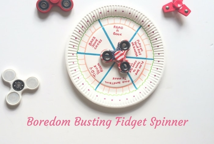Fidget Spinner Boredom Buster