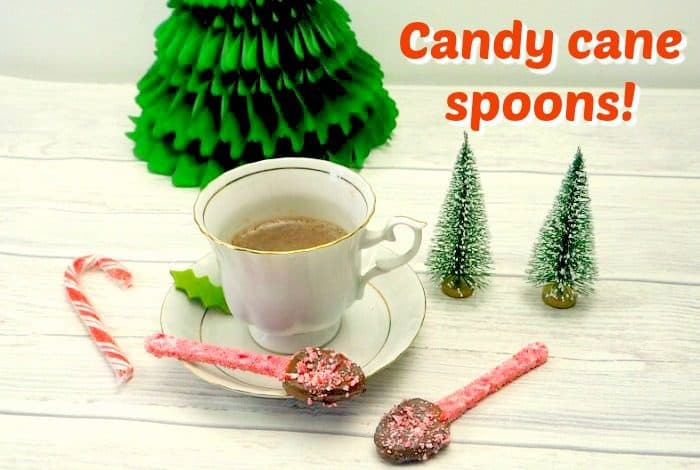 Candy cane spoons!