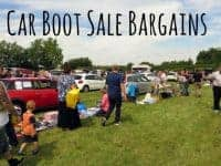 Car boot sale bargains {26th March 2017}....