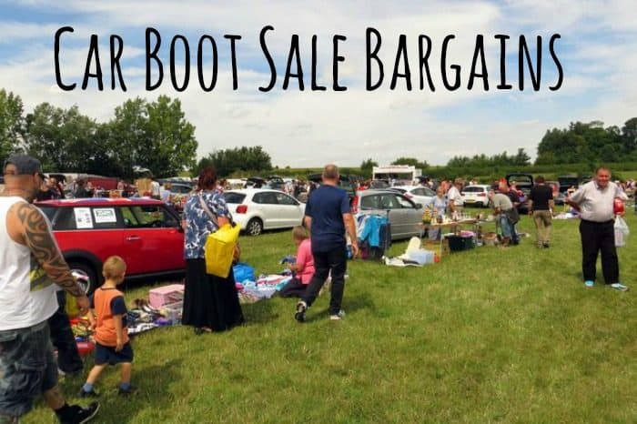 Car boot sale bargains {26th March 2017}….