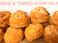 Cheese and Tomato Scone Recipe....