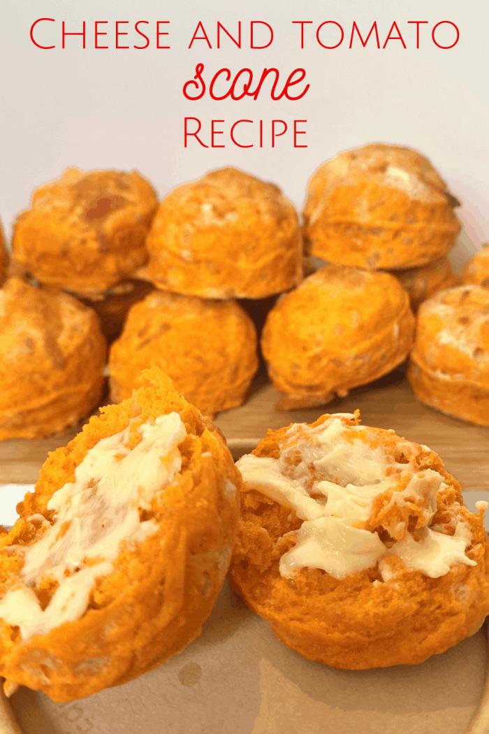 Cheese and Tomato Scone Recipe