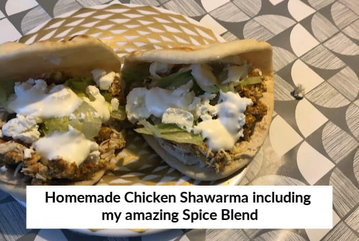 Fakeaway Slimming World Homemade Chicken Shawarma {Including