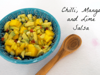 Chilli, Mango and Lime Salsa....