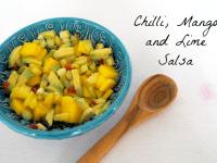 Chilli, Mango and Lime Salsa....