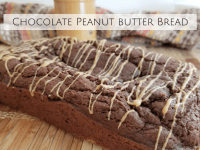 Chocolate Peanut Butter Bread...