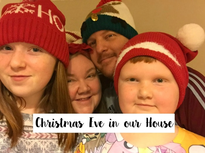 Christmas Eve in our house....