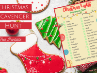 Hold your own Christmas scavenger hunt