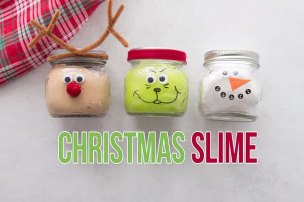 Christmas Slime Recipe
