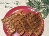 Christmas Waffle Recipe....