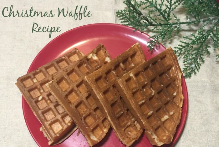 This amazingChristmas Waffle Recipe genuinely tastes of Christmas and Iguarantee you're going to love it if you try it!