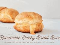 Homemade Cheesy Bread Buns....