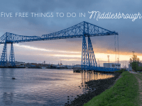 Five Free Things to do in Middlesbrough....