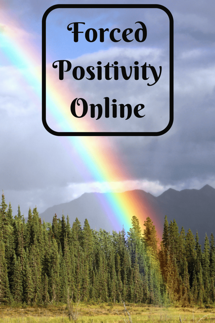 Forced Positivity Online - keeping it real or hiding the truth!