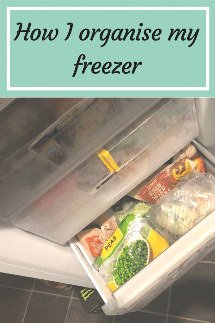 How I organise my freezer to make meal planning on a budget so much easier.