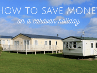 5 ways to save money on a family caravan holiday....