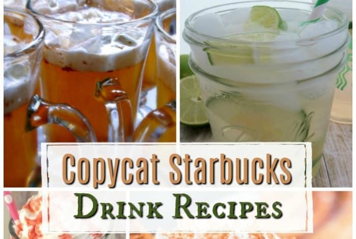 Copycat Starbucks Drink Recipes...