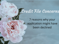 {Credit File Concerns} Am I Blacklisted? No, but here's five reasons why you might be declined credit....