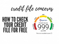 How to check your credit file for free - and why you NEED to....