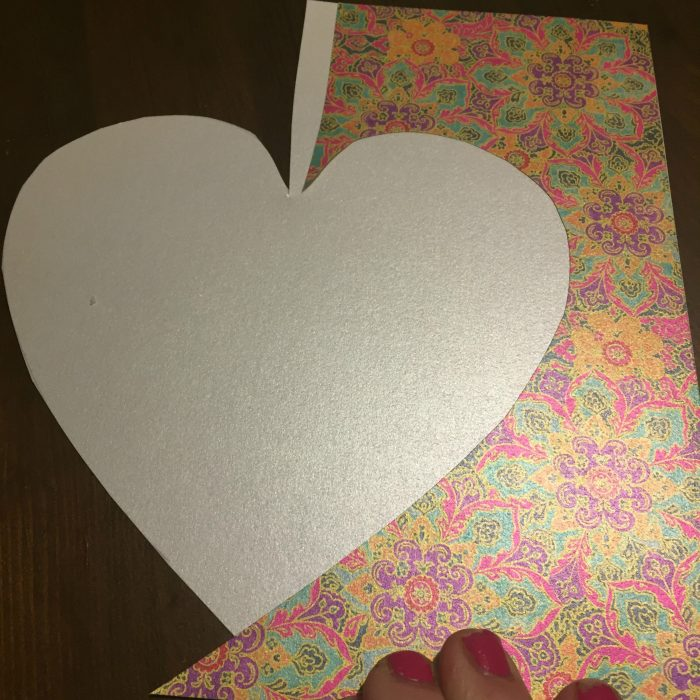 DIY Folded Paper Envelope Tutorial - Step 1