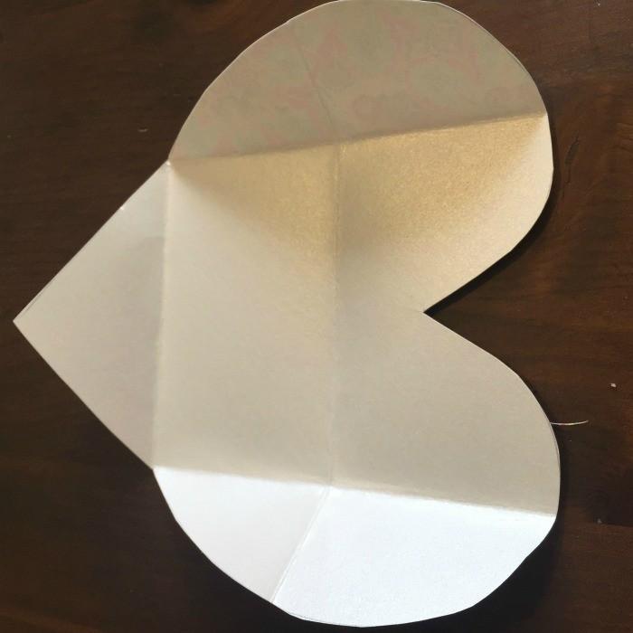 DIY Folded Paper Envelope Tutorial - step 4