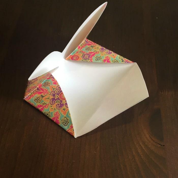 DIY Folded Paper Envelope Tutorial - step 5