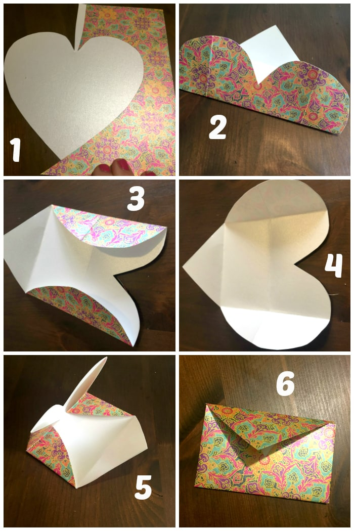 DIY Folded Paper Envelope Tutorial....
