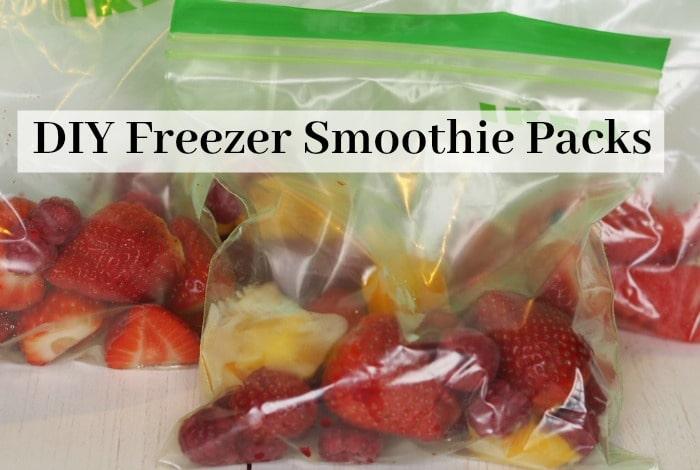 DIY Freezer Smoothie Packs