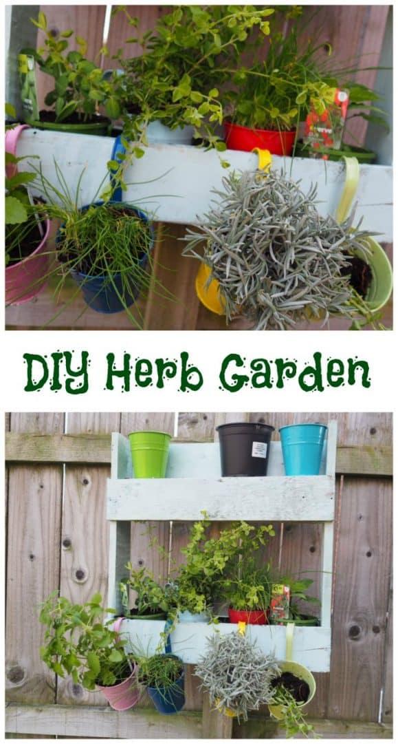 DIY Herb Garden #eatwhatyougrow
