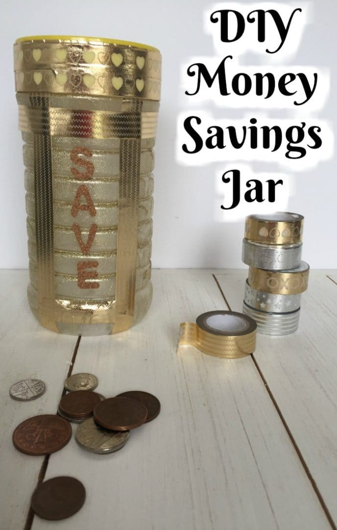 DIY Money Savings Jar