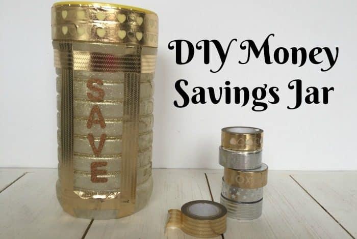 DIY Money Savings Jar....