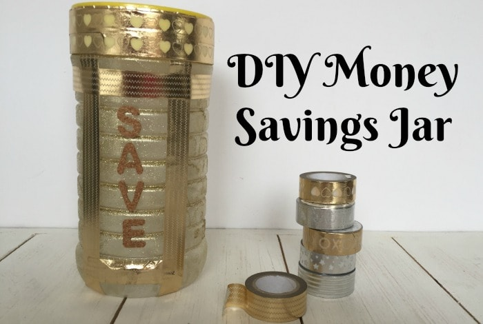 DIY Money Savings Jar….