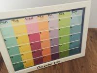 Ideas for creating a themed calendar....