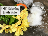 Super Relaxing DIY Bath Salts....