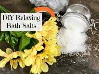 Super Relaxing DIY Bath Salts....