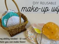 DIY Reusable Make-Up Wipes....