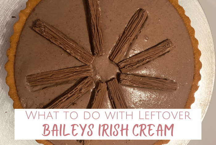 If ever you find yourself with any leftover Baileys Irish Cream then this is exactly the recipe you need!