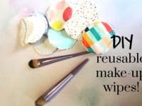 DIY Reusable Make-Up Wipes....