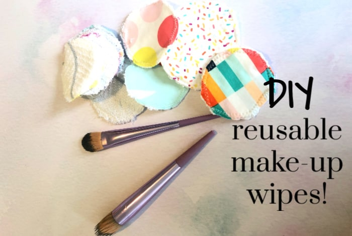 DIY reusable make-up wipes!