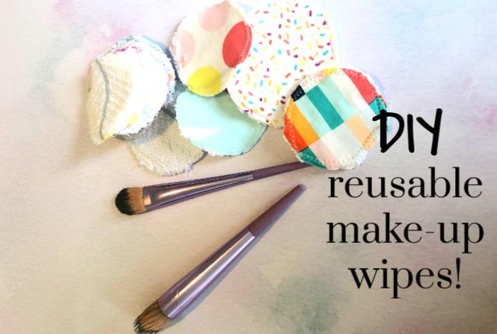 DIY reusable make-up wipes!