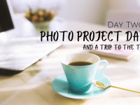 Day Two of my week off - Photo Project Day....