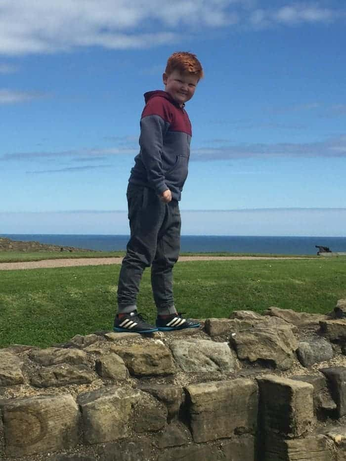 Day at Tynemouth Priory