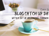 Day Six of my week off - Blog Catch up Day...