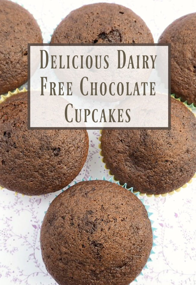 Delicious Dairy Free Chocolate cakes.  And 10 other frugal food substitutions you can make when you run out of an ingredient.