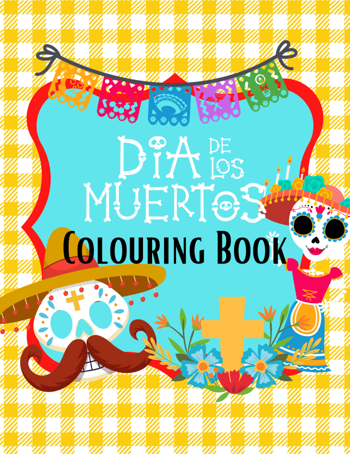Day of the Dead Colouring Pages