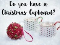 Do you have a Christmas Cupboard....