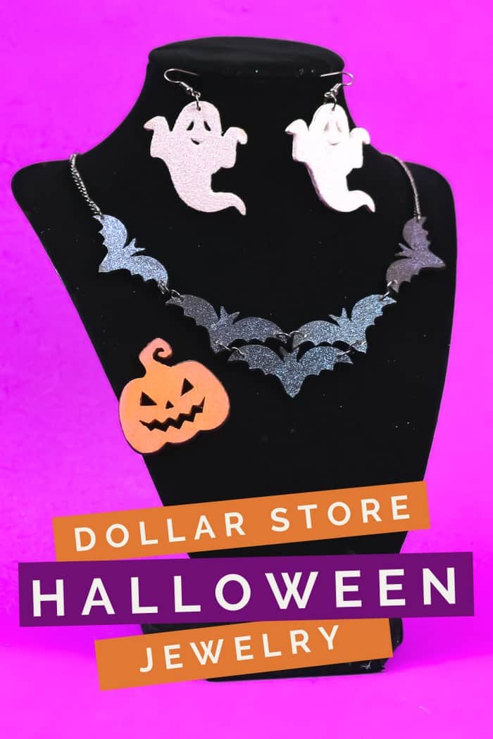 DOLLAR STORE HALLOWEEN JEWELRY - 3 WAYS Halloween Mad in Crafts